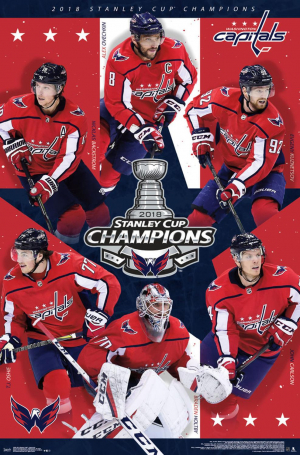 2018 Stanley Cup - Washington Capitals Champions