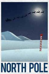 North Pole Retro Travel