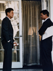 President John Kennedy with His Brother, Atty. Gen. Robert Kennedy, Ca. 1961-63