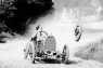 Raymond Mays' Bugatti Loses a Wheel, Early 1930s