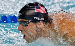 Michael Phelps Athlete American Swimmer Baltimore Bullet